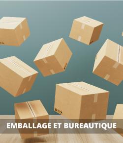 Emballage, publicité et bureau