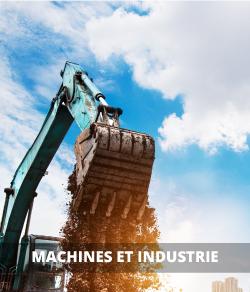 Machines, pièces et outils industriels