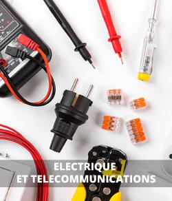 Matériel électrique, composants et télécommunications